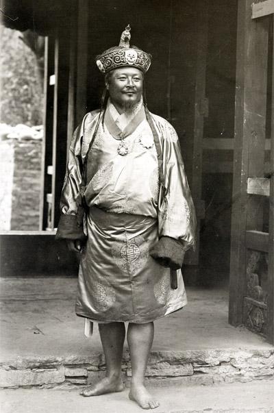 1st King of Bhutan