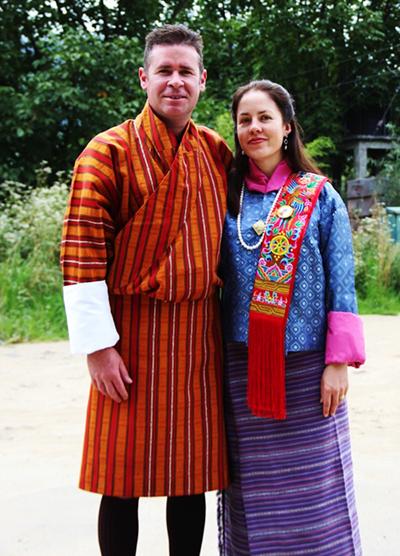 Paul and Belinda in Gho and Kira