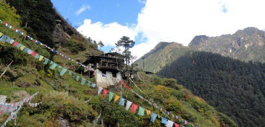Pilgrimage to Paro Chumphug Nye